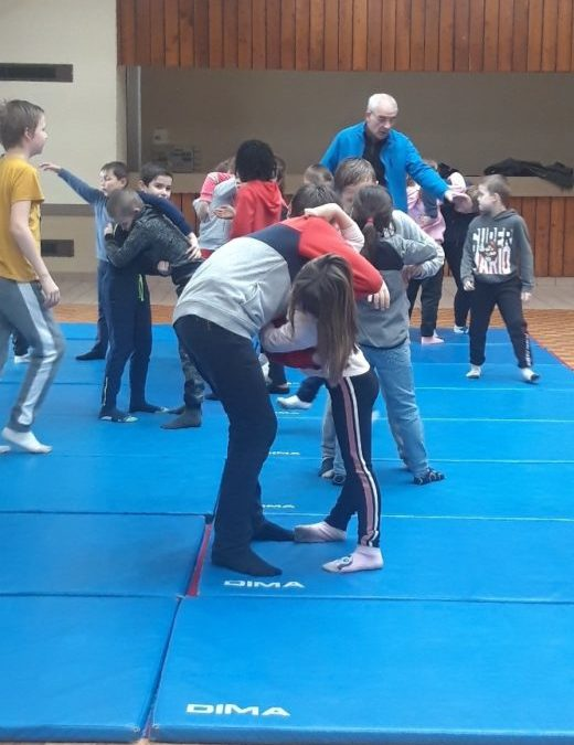 Sport de combat avec Hervé Leroy
