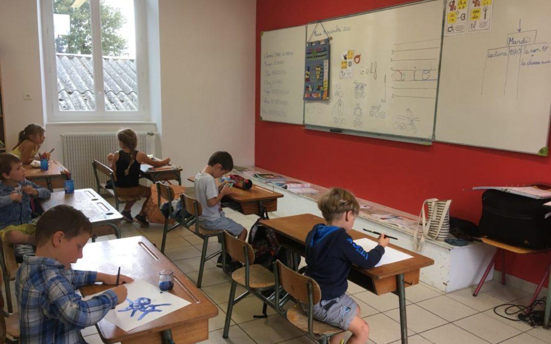 La nouvelle classe de Saint-Martin des prés