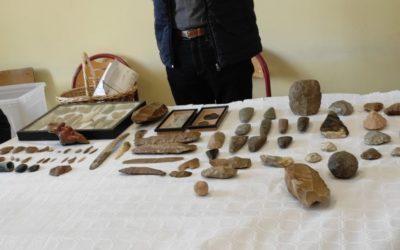 A la découverte des outils préhistoriques