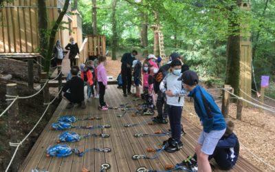 Les activités sportives à Guerlédan